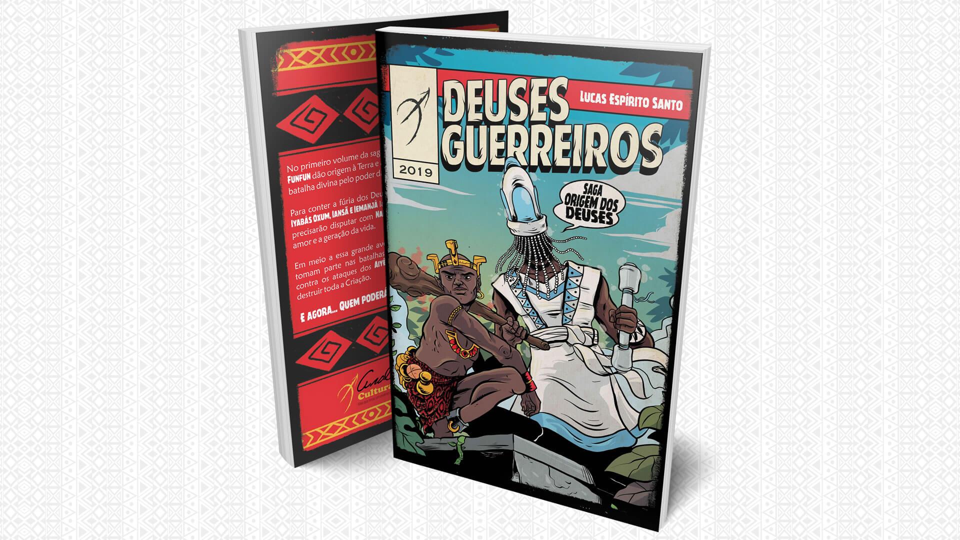 Deuses Guerreiros é a estreia infantojuvenil da editora