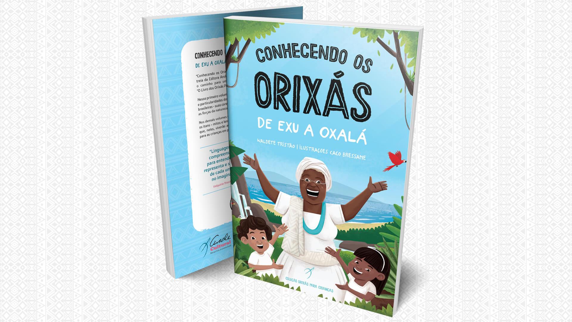 """Arole Cultural faz sua estreia no universo infantil com a Coleção """"Orixás Para Crianças"""""""