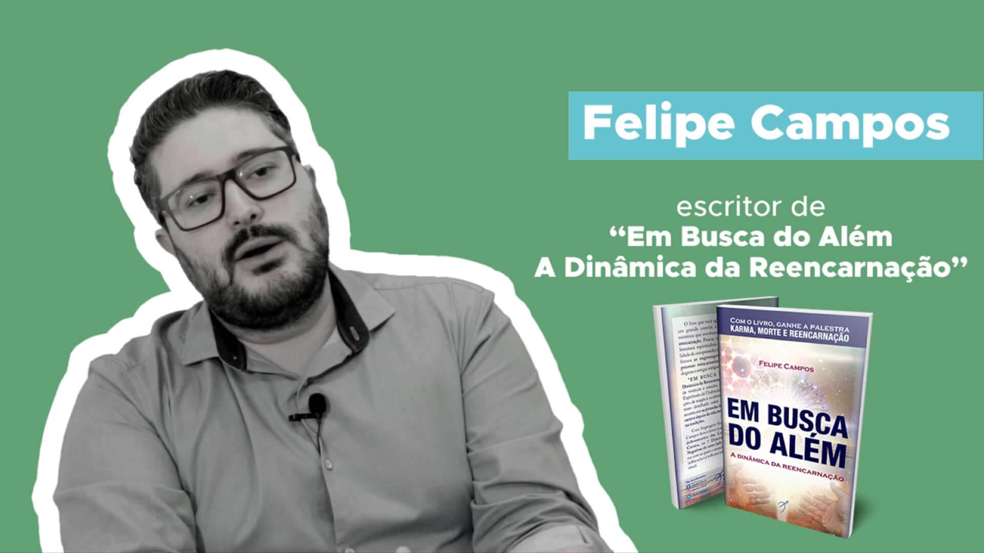 Assista à Entrevista com Felipe Campos, Autor do Mês no Clube Arole