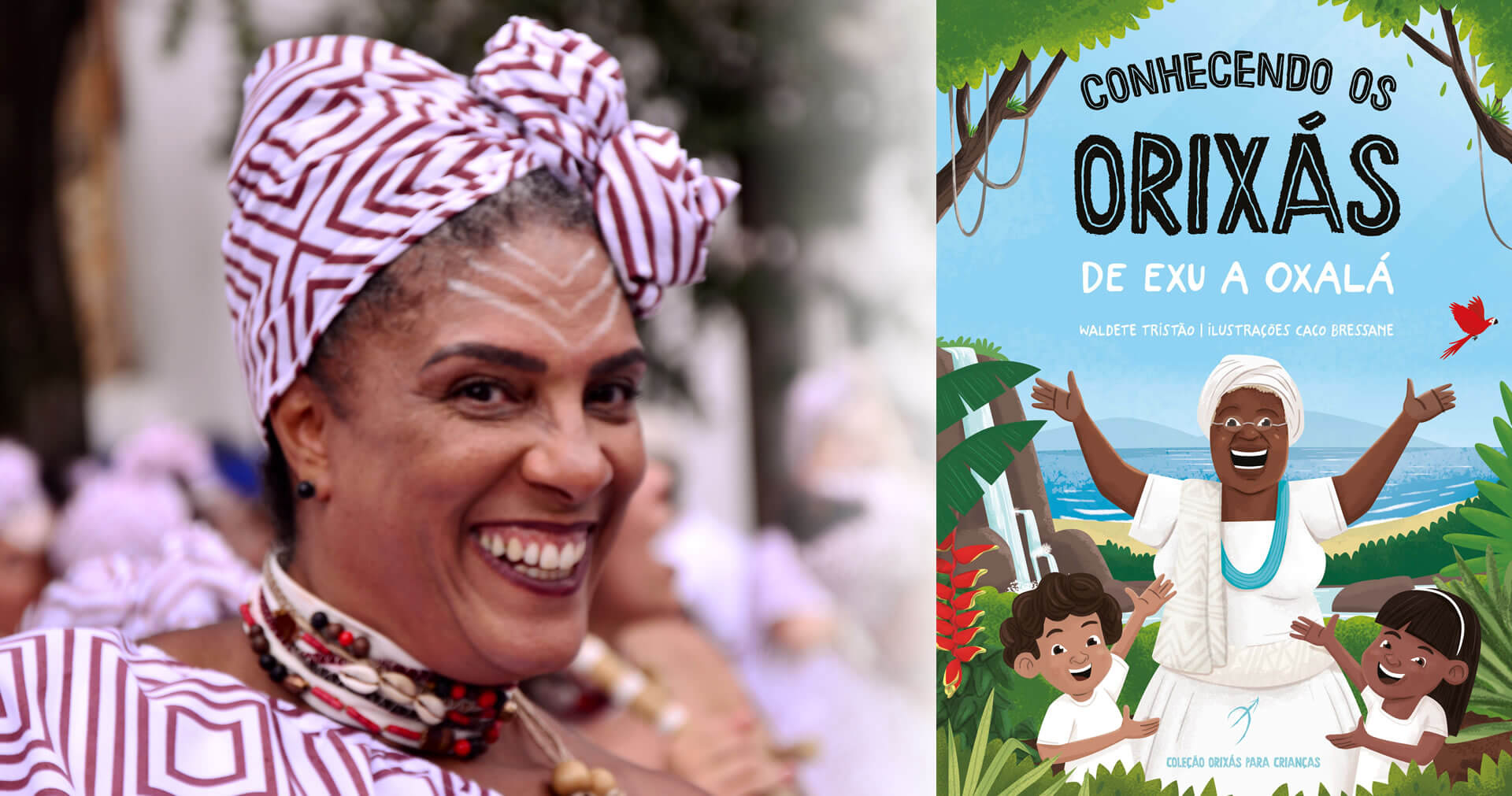 Arole Cultural | Na estreia da Arole Cultural para o público infantil, professora da rede pública apresenta os deuses do candomblé