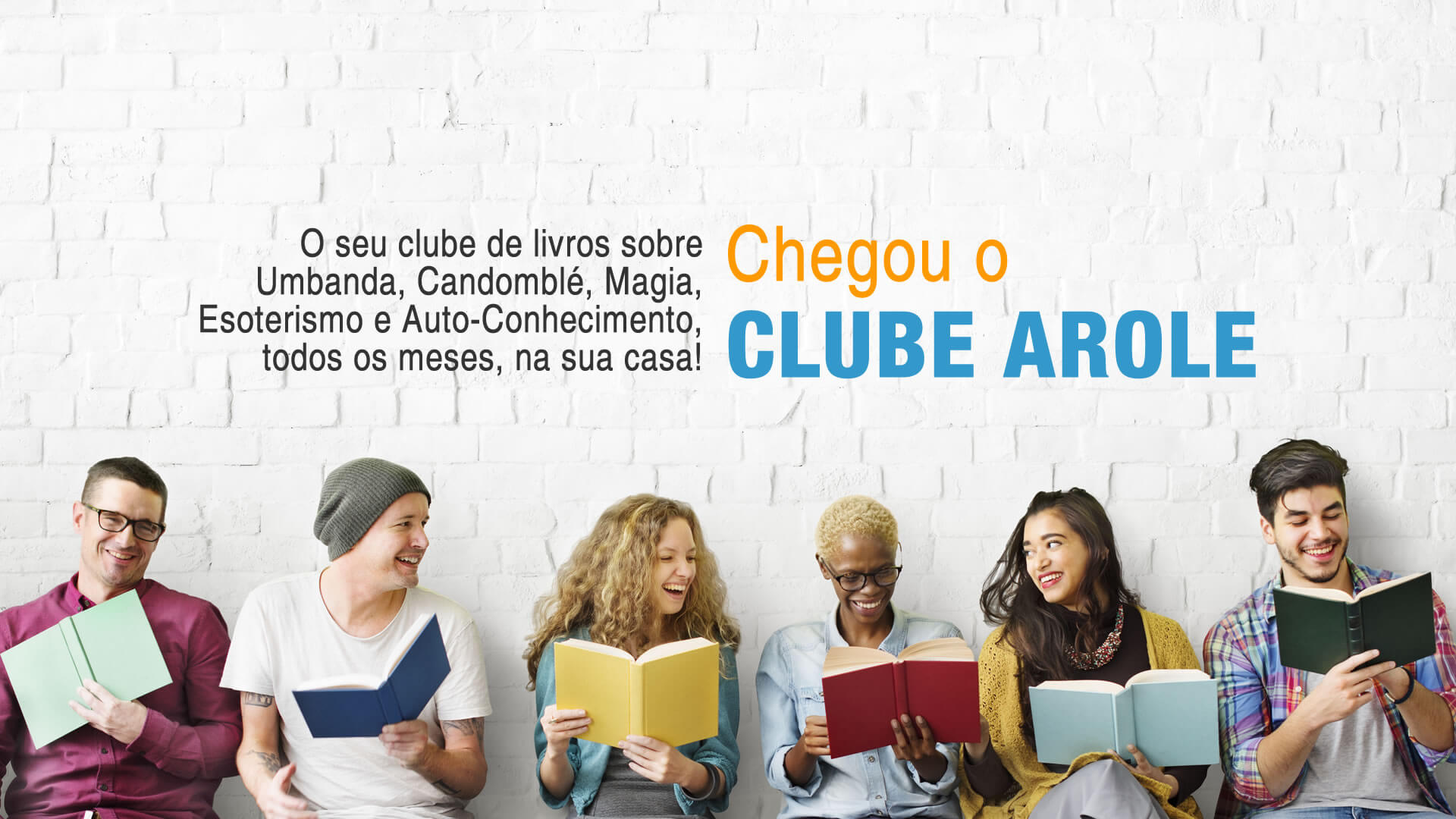 Arole Cultural | O Clube Arole, lançado no último 30 de abril, reunirá obras da Editora e outras publicações do segmento selecionadas por autores e curadores