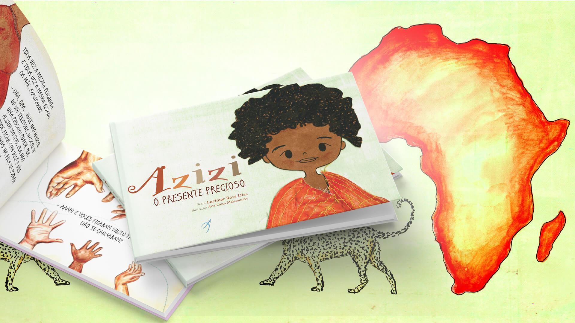 No Mês da África, o pequeno Azizi foi destaque infantil nas redes sociais
