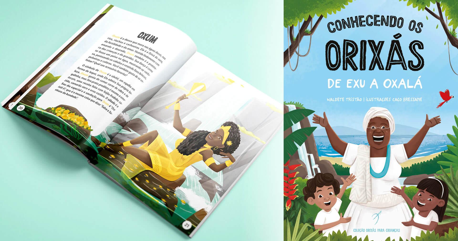 Arole Cultural | Escrito por Waldete Tristão, Conhecendo os Orixás é um livro glorioso destinado a educar os jovens sobre a beleza da espiritualidade africana.